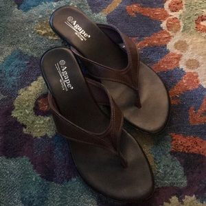 Agape Brown Sandals